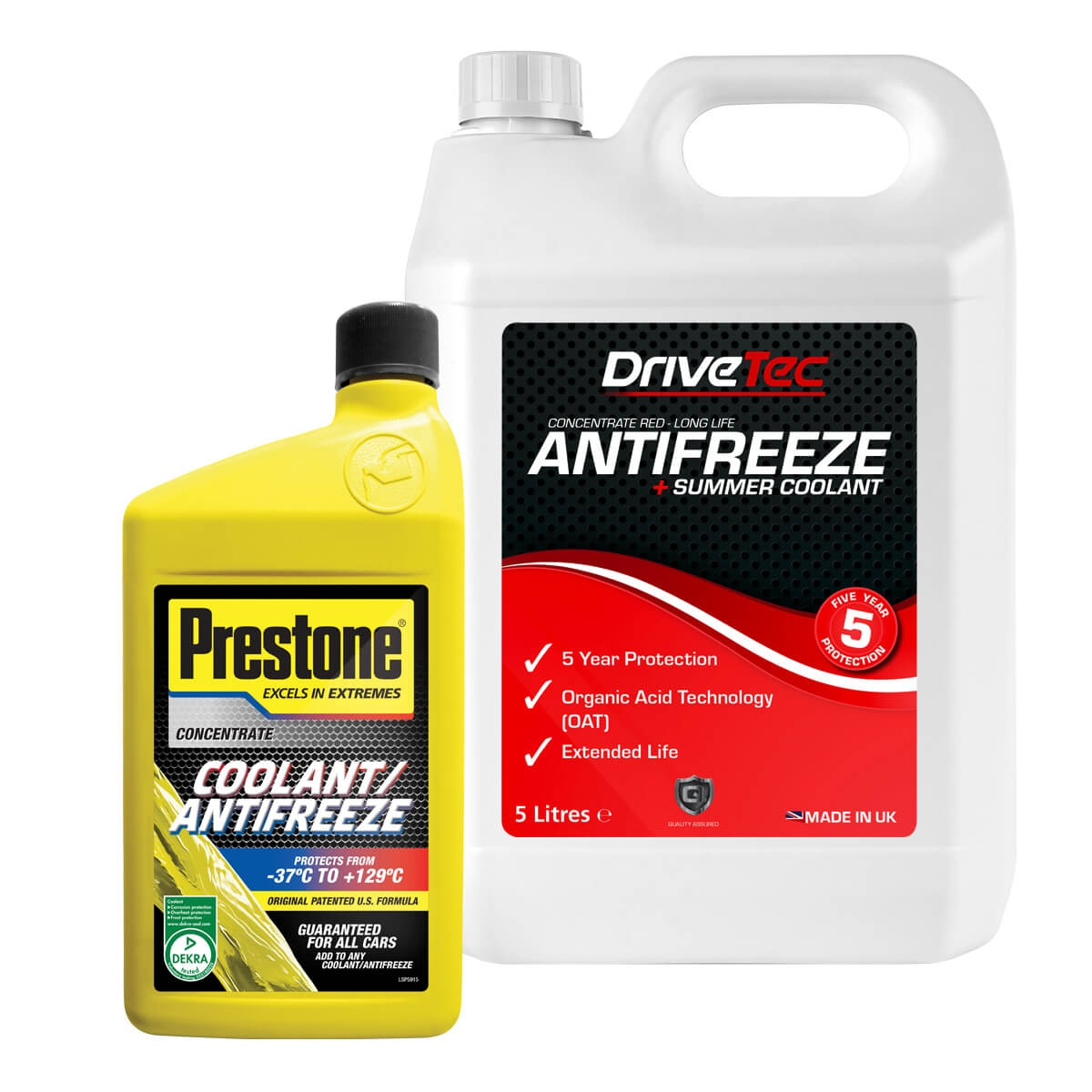DACIA DUSTER Antifreeze & Coolant
