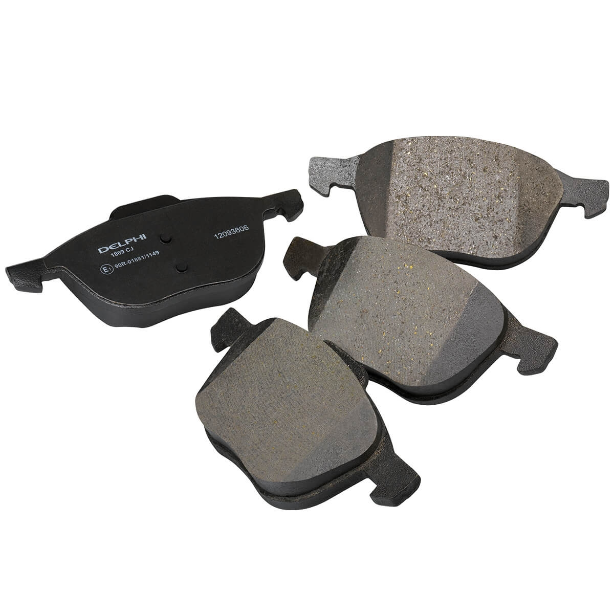 CHRYSLER VOYAGER IV Brake Pad Set
