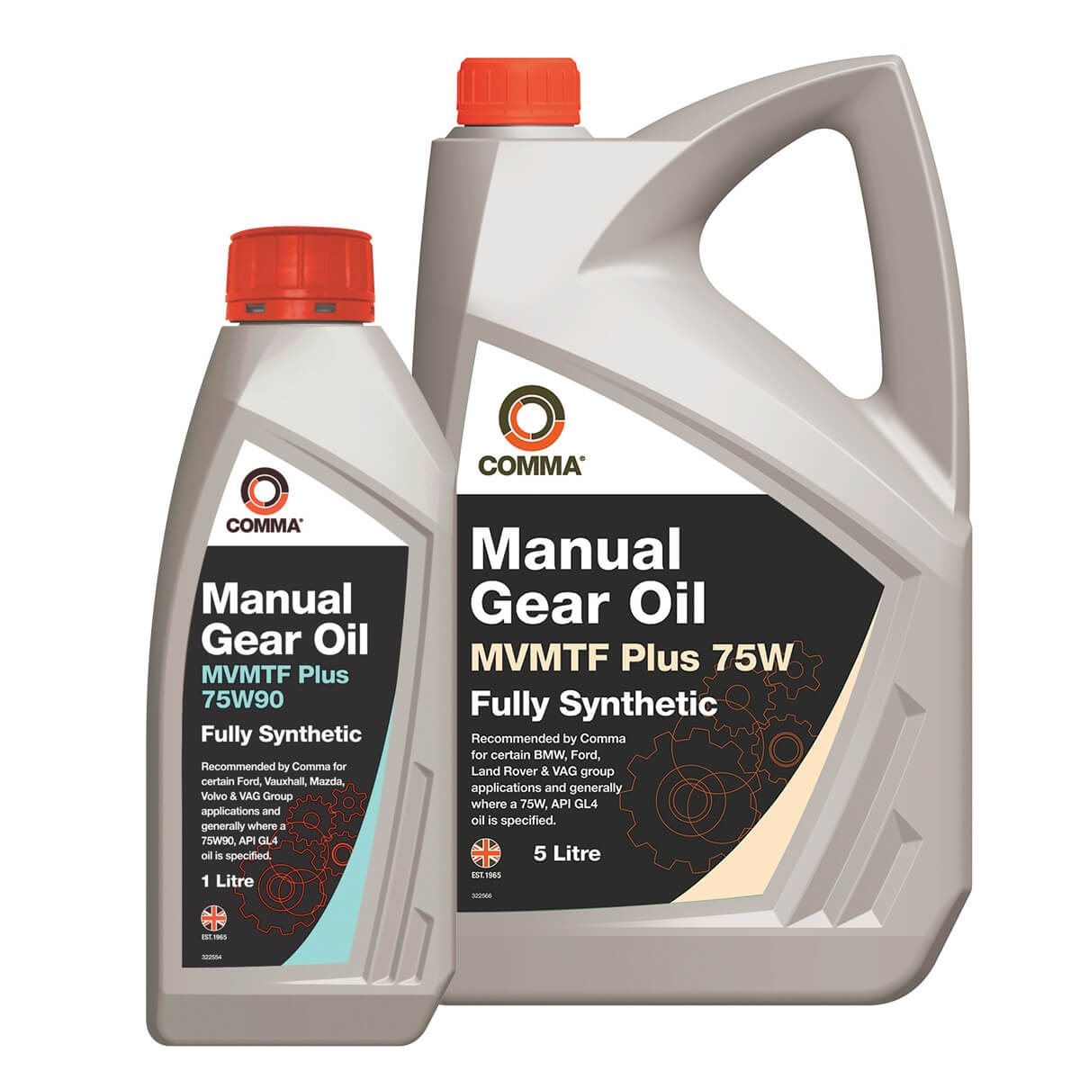 BEDFORD CHEVANNE Manual Transmission Oil