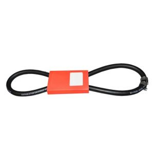 UNIVERSAL FUEL HOSE WITH CLIPS - 8MM X 1M