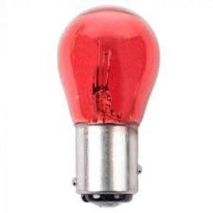 BULB CAPPED AUXILIARY RED - 12V 21/5W BAY15D