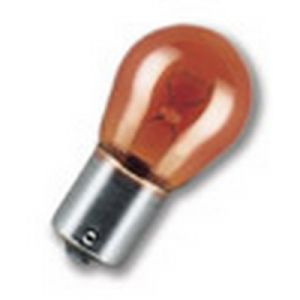 12V 581 21W CAPPED AUXILIARY AMBER BULB - SINGLE
