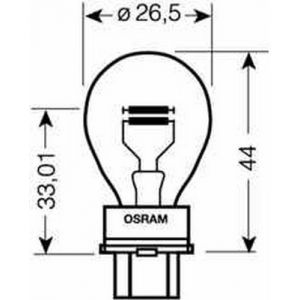 12V 180 27/7W CAPPED GAS DISCHARGE AUXILIARY BULB