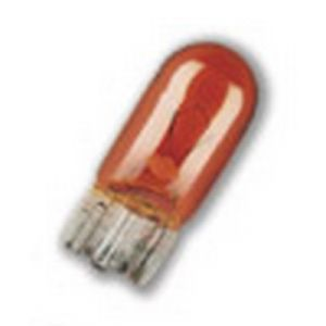 12V 501A 5W AMBER CAPLESS AUXILIARY BULB - SINGLE