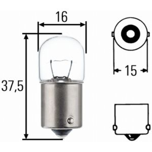 24V 4W CAPPED AUXILIARY BULB