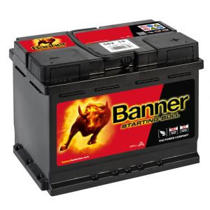 027 Banner Starting Bull - 62AH - 3 Year Warranty
