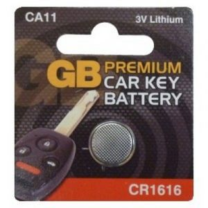 ALARM / KEY FOB BATTERY CR1616 - X1