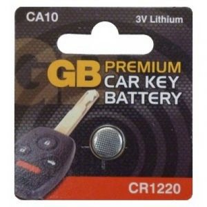 ALARM / KEY FOB BATTERY CR1220 - X1
