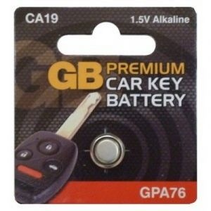 ALARM / KEY FOB BATTERY GPA76 - X1