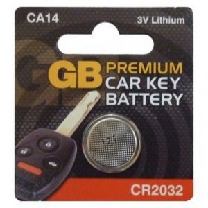 ALARM / KEY FOB BATTERY CR2032 - X1