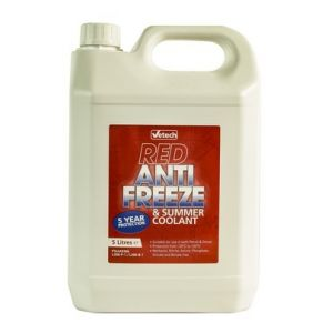ANTIFREEZE RED 5L