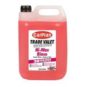 TRADE VALET HI WAX RINSE 5L