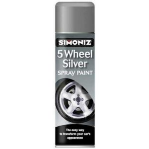 WHEEL SILVER AEROSOL - 500ML