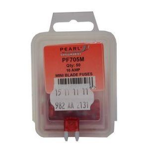 MINI BLADE FUSE - RED 10A - X 50