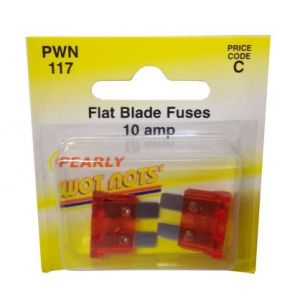 BLADE FUSE - RED 10A - X 2