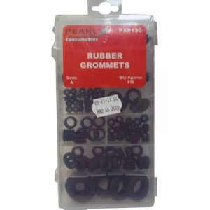 RUBBER GROMMETS - ASSORTED - X 110