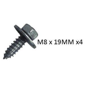 ACME BOLT M8 X 19MM - X 4