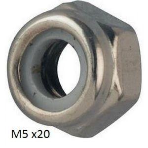 SELF LOCKING NUTS - M5 - X 20