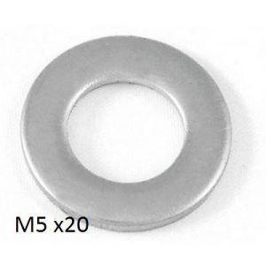FLAT WASHER - M5 - X 20
