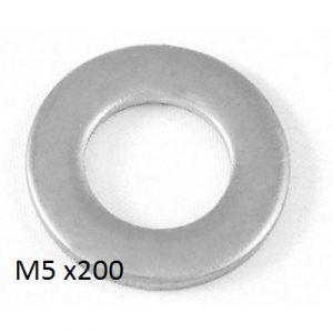 FLAT WASHER - M5 - X 200