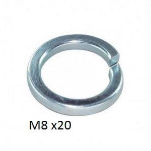 SPRING WASHER - M8 - X 20