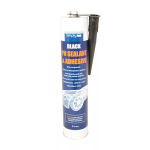 BLACK POLYURETHANE ADHESIVE - 3300ML CARTRIDGE