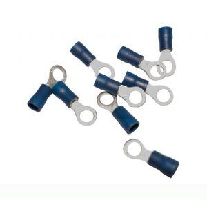 BLUE CRIMP RING TERMINAL