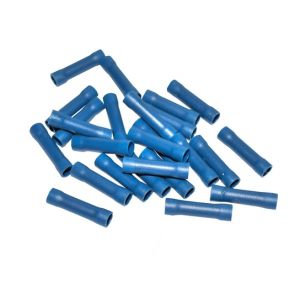 BLUE BUTT TERMINAL CRIMP CONNECTORS