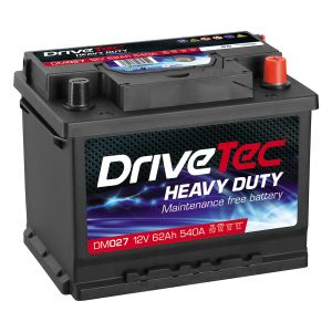 027 Car Battery - 3 Year Warranty