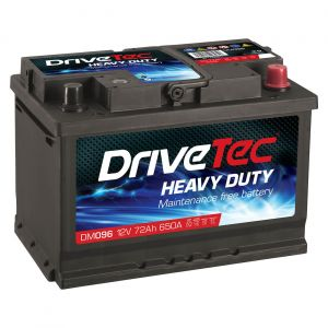 096 Car Battery - 3 Year Warranty