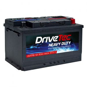 110 Car Battery - 3 Year Warranty