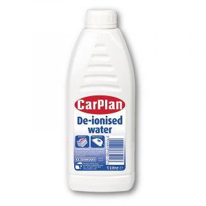 CARPLAN DE-IONISED WATER DISTILLED 1LT