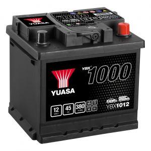 012 1000 Series Car Battery - 3 Year Warranty