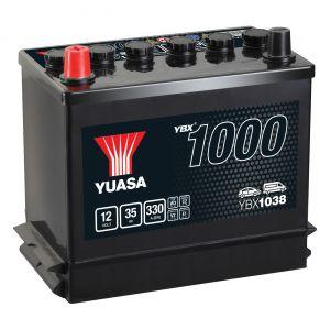 038 1000 Series Car Battery - 3 Year Warranty