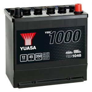 048 1000 Series Car Battery - 3 Year Warranty