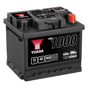 063 1000 Series Car Battery - 3 Year Warranty