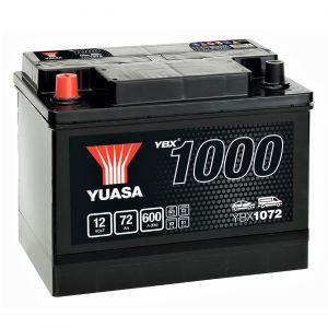 072 1000 Series Car Battery - 3 Year Warranty