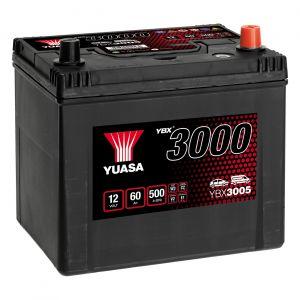 005 3000 Series Car Battery - 4 Year Warranty