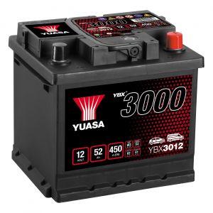 012 3000 Series Car Battery - 4 Year Warranty