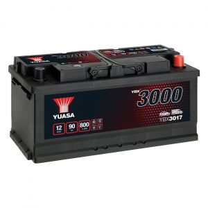 017 3000 Series Car Battery - 4 Year Warranty