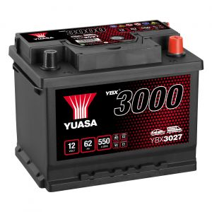 027 3000 Series Car Battery - 4 Year Warranty