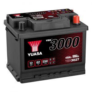 027 3000 Series Car Battery - 4 Year Warranty