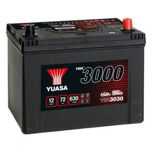 030 3000 Series Car Battery - 4 Year Warranty
