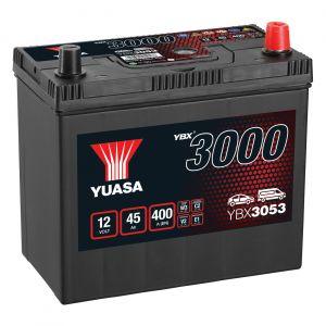 053 3000 Series Car Battery - 4 Year Warranty