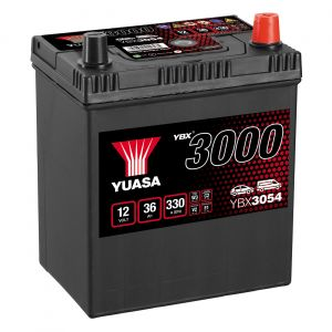 054 3000 Series Car Battery - 4 Year Warranty