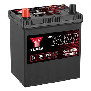 055 3000 Series Car Battery - 4 Year Warranty
