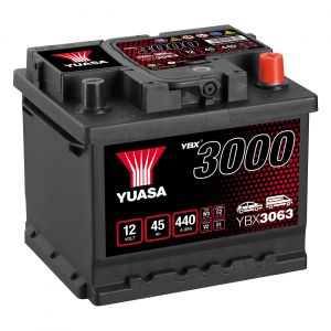 063 3000 Series Car Battery - 4 Year Warranty