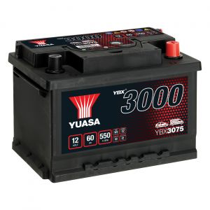 075 3000 Series Car Battery - 4 Year Warranty