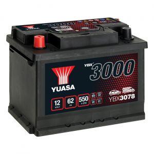 078 3000 Series Car Battery - 4 Year Warranty