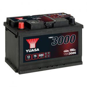 086 3000 Series Car Battery - 4 Year Warranty